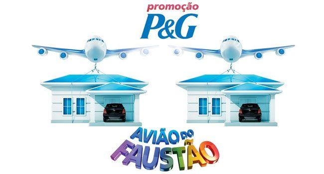 Promoção Avião do Faustão 2019 P&G