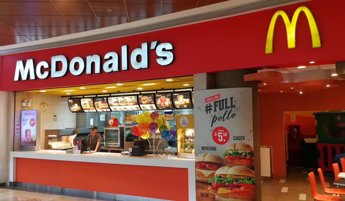 Promoção MC Donalds 2020