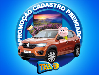 Promoção Cadastro Premiado Tele Sena 2020